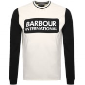 Product Image for Barbour International Glide Logo T Shirt White