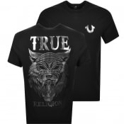 Product Image for True Religion Wolf T Shirt Black
