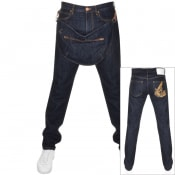 Product Image for Vivienne Westwood Tapered Jeans With Bag Blue