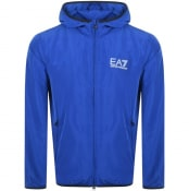 Product Image for EA7 Emporio Armani Core Hooded Jacket Blue