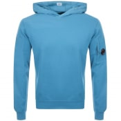 Product Image for CP Company Goggle Hoodie Blue