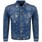 Product Image for Diesel Nhill Denim Jacket Blue