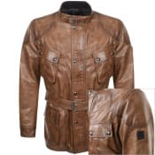Product Image for Belstaff Trailmaster Panther Leather Jacket Brown