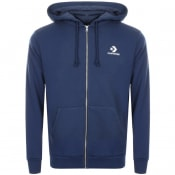 Product Image for Converse Star Chevron Full Zip Hoodie Navy