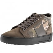 Product Image for Android Homme Prop Mid GEO Suede Trainers Grey