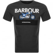 Product Image for Barbour International Rider T Shirt Grey
