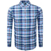 Product Image for Ralph Lauren Long Sleeved Check Shirt Blue