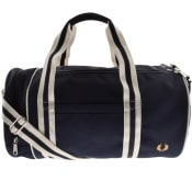 Product Image for Fred Perry Twin Tipped Barrel Bag Navy