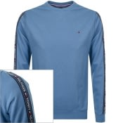 Product Image for Tommy Hilfiger Lounge Taped Sweatshirt Blue