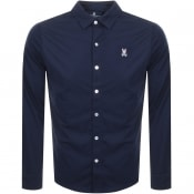 Product Image for Psycho Bunny Long Sleeved Shirt Navy