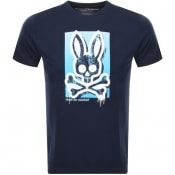 Product Image for Psycho Bunny Pebley Crew Neck T Shirt Navy