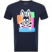 Product Image for Psycho Bunny Chelburn Crew Neck T Shirt Navy