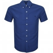 Product Image for Ralph Lauren Short Sleeved Slim Fit Shirt Blue
