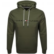 Product Image for Tommy Hilfiger Logo Hoodie Khaki