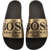 Product Image for BOSS Athleisure Solar Sliders Gold
