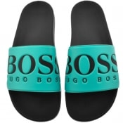 Product Image for BOSS Athleisure Solar Sliders Blue