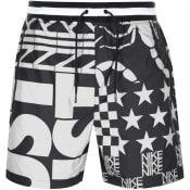 Product Image for Nike Allover Print Logo Shorts Black