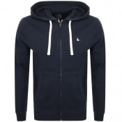 Product Image for Jack Wills Pinebrook Full Zip Hoodie Navy