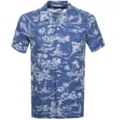Product Image for Ralph Lauren Floral Short Sleeve Shirt Blue