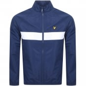 Product Image for Lyle And Scott Funnel Neck Jacket Navy