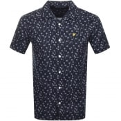 Product Image for Lyle And Scott Short Sleeved Resort Shirt Navy