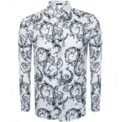 Product Image for Versace Collection Long Sleeved Shirt White
