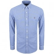 Product Image for Ralph Lauren Slim Fit Gingham Shirt Blue