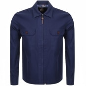 Product Image for Pretty Green Overshirt Jacket Blue