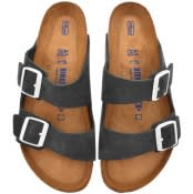 Product Image for Birkenstock Arizona Suede Sandals Grey