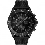 Product Image for BOSS HUGO BOSS Ocean Edition Watch Black