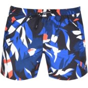 Product Image for BOSS HUGO BOSS Batfish Floral Swim Shorts Black