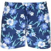 Product Image for Gant Floral Classic Fit Swim Shorts Navy