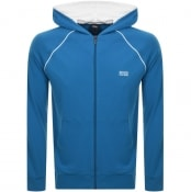 Product Image for BOSS Bodywear Full Zip Hoodie Blue