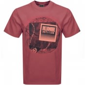 Product Image for Billionaire Boys Club World Map T Shirt Red