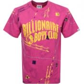 Product Image for Billionaire Boys Club Nautical Logo T Shirt Pink