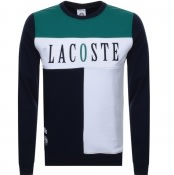Product Image for Lacoste Sport Colour Block Sweatshirt Navy