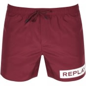 Product Image for Replay Swim Shorts Burgundy
