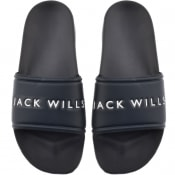 Product Image for Jack Wills Dunnock Pool Sliders Navy