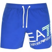 Product Image for EA7 Emporio Armani 7 Lines Swim Shorts Blue