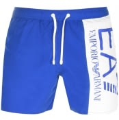 Product Image for EA7 Emporio Armani Visibility Swim Shorts Blue
