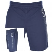 Product Image for EA7 Emporio Armani Logo Series Shorts Navy