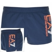 Product Image for EA7 Emporio Armani Colour Block Swim Shorts Navy