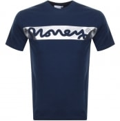 Product Image for Money Block Sig T Shirt Navy