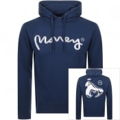 Product Image for Money Chrome Sig Ape Hoodie Navy