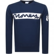 Product Image for Money Block Sig Ape Logo Sweatshirt Navy
