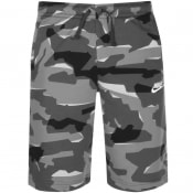 Product Image for Nike Standard Club Camouflage Shorts Grey