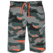 Product Image for Nike Standard Club Camouflage Shorts Green