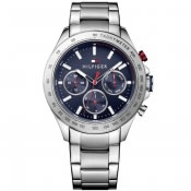Product Image for Tommy Hilfiger Hudson Chronograph Watch Silver