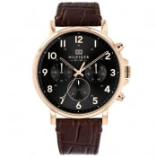 Product Image for Tommy Hilfiger Daniel Chronograph Watch Brown