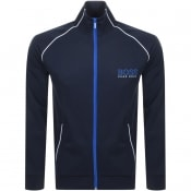 Product Image for BOSS Bodywear Full Zip Sweatshirt Navy